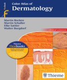 Ebook Color atlas of dermatology thieme: Part 1