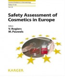 Ebook Safety assessment of cosmetics in Europe: Part 1
