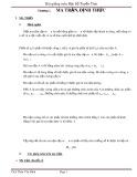 Bài giảng về môn Đại Số Tuyến Tính