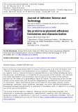 Soy proteins as plywood adhesives: formulation and characterization