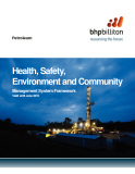 Health, Safety, Environment and Community Management System Framework