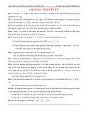Bài tập tự luận Hóa 10 Cơ bản và nâng cao: Chương 1 - Nguyên tử