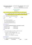 Lời giải chi tiết Kỳ thi Trung học phổ thông Quốc gia năm 2016 môn Hóa học (Mã đề 951)