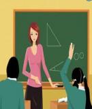 Một số phương pháp về dạy học tích cực