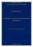 Luận văn Thạc sĩ Khoa học ngữ văn: Cao Bá Quát – Lương tâm và khí phách qua thơ chữ Hán