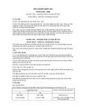 Tiêu chuẩn quốc gia TCVN 1749:1986