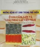 Ebook Những bệnh ký sinh trùng phổ biến ở gia cầm, lợn và các loài nhai lại ở Việt Nam (sách chuyên khảo dành cho đào tạo sau đại học): Phần 2