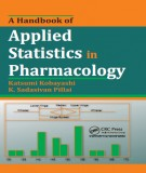 Ebook A handbook of applied statistics in pharmacology: Part 1