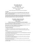 Tiêu chuẩn Quốc gia TCVN 5364:1991