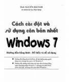 Ebook Cách cài đặt và sử dụng căn bản nhất Windows 7: Phần 1