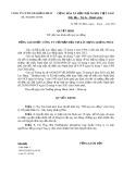 Quyết định số: 286/QPIC-HCNS năm 2013
