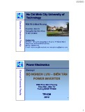 Bài giảng Điện tử công suất: Bộ nghịch lưu, biến tần Power Inverter (phần 4) - PGS.TS Lê Minh Phương