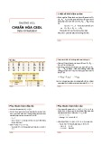 Bài giảng Cơ sở dữ liệu: Chương 6 - Trịnh Xuân