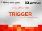 Bài giảng Microsoft SQL server: Chương 8 - Phạm Mạnh Cương