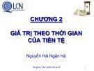 Bài giảng Lập và phân tích dự án: Chương 2 - Nguyễn Hải Ngân Hà