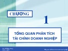 Bài giảng Phân tích tài chính doanh nghiệp - ThS. Đỗ Hồng Nhung