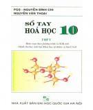 Sổ tay Hóa học 10: Phần 1
