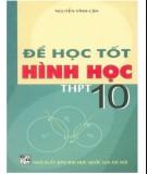 Ebook Để học tốt Hình học THPT 10: Phần 2