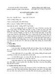 Mẫu Bản kiểm điểm Đảng viên - Trường THPT Vĩnh Thuận