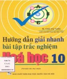Ebook Hướng dẫn giải nhanh bài tập trắc nghiệm Hóa học 10 (tái bản lần thứ nhất): Phần 1