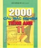 Ebook 2000 câu trắc nghiệm Tiếng Anh 11 (có đáp án): Phần 1