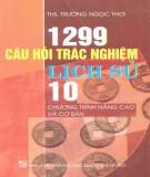1299 câu hỏi trắc nghiệm lịch sử 10: phần 2