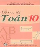 Ebook Để học tốt Toán 10: Phần 1