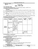 Giáo án Tin học Lớp 10 Tiết 20: Bài tập
