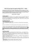 Giáo án luyện tập cho người mới tập (Từ 0 - 1 năm)