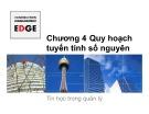 Bài giảng Tin học trong quản lý xây dựng: Chương 4 - ThS. Đỗ Thị Xuân Lan