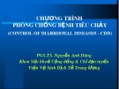 Bài giảng Chương trình phòng chống bệnh tiêu chảy - PGS.TS. Nguyễn Anh Dũng