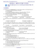 Bài tập Vật lí 12 - Nâng cao: Chương 1 - Động lực học vật rắn