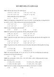 Bài tập Dãy điện hóa của kim loại