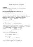 Tài liệu Phương pháp bảo toàn Electron