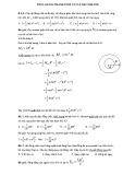 Bài giải Cơ học vật rắn