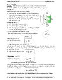 Chuyên đề Cơ học vật rắn (năm học 2009 - 2010)