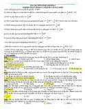 Bài tập tổng hợp Chương 1: Momen quán tính của một số vật đặc biệt