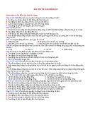 Bài tập về Dao động cơ
