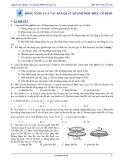 Dưới đây là Bài tập Vật lí 12 - Nâng cao: Bài 4 - Động năng của vật rắn quay quanh một trục cố định
