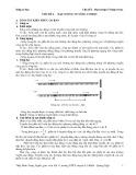 Sóng cơ học: Chủ đề 1 - Đại cương về sóng cơ học