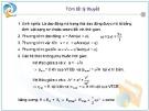 Bài giảng Chuyên đề: Dao động điều hòa và các bài toán cơ bản