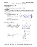 Sóng cơ học: Chủ đề 2 - Phản xạ sóng, sóng dừng