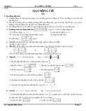 Vật lí 12 Cơ bản: Chương 1 - Dao động cơ