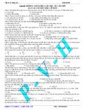 Chủ đề: Phương trình động lực học của vật rắn quay quanh một trục cố định