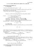 Chuyên đề: Sự thay đổi chu kỳ dao động của con lắc đơn