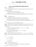 Chương 1: Dao động cơ học - Nguyễn Bá Linh