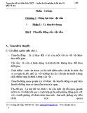 Vật lí 12 phần Cơ học chương 1: Động lực học vật rắn