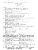 Đề thi thử tốt nghiệp môn Sinh học Bài số 5 - Trường THPT Ngô Quyền