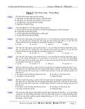 Dạng 2: Giao thoa sóng - Sóng dừng