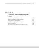 Lecture Configuring and troubleshooting a Windows Server 2008 Network Infrastructure - Module 4